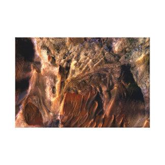 Surface of Mars – Melas Chasma Canvas Print