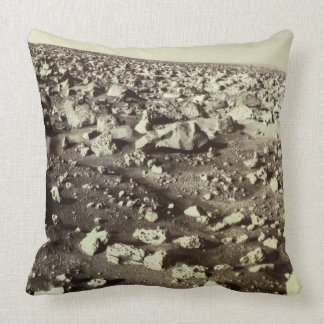 Surface of Mars Throw Pillow