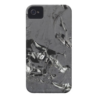 Surface of pure silicon crystals iPhone 4 cover