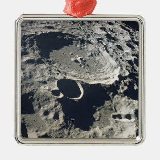Surface of the Moon 2 Metal Ornament