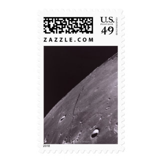 Surface of the Moon 4 Stamps