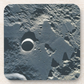 Surface of the Moon 5 Drink Coaster