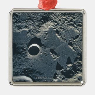 Surface of the Moon 5 Metal Ornament