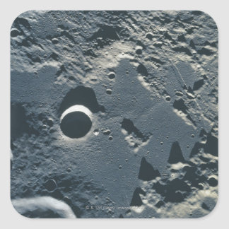 Surface of the Moon 5 Square Sticker