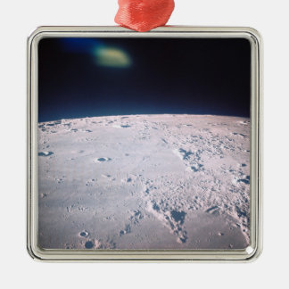 Surface of the Moon 6 Metal Ornament
