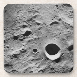 Surface of the Moon Beverage Coaster