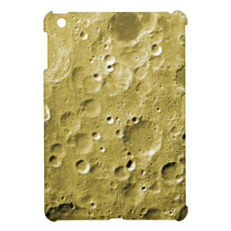 Surface of the moon cover for the iPad mini