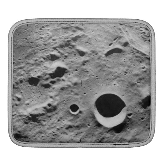 Surface of the Moon iPad Sleeve