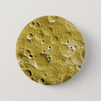 Surface of the moon pinback button