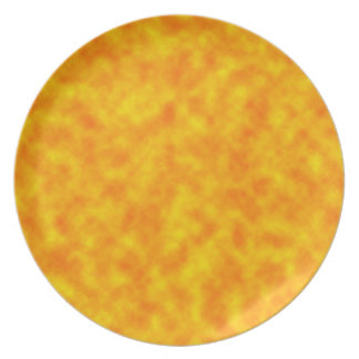 Surface of the Sun Dinner Plates