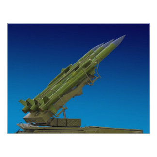 surface to air, anti aircraft missile custom invitations