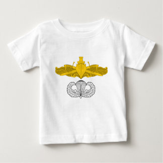 Surface Warfare Officer with Basic Jump Wings Baby T-Shirt