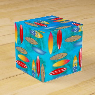 Surfboads Party Favor Boxes