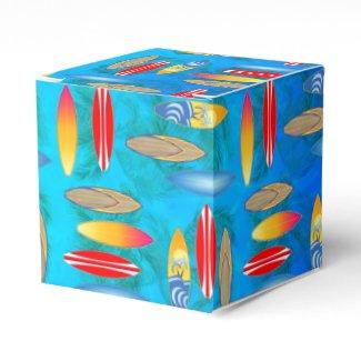 Surfboads Party Favor Boxes