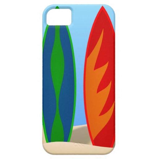 Surfboard Art iPhone 5 Case