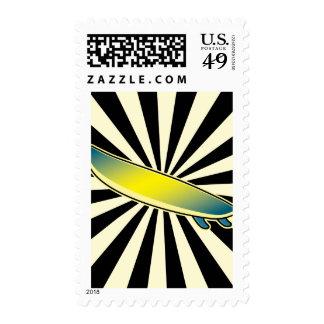surfboard button stamp