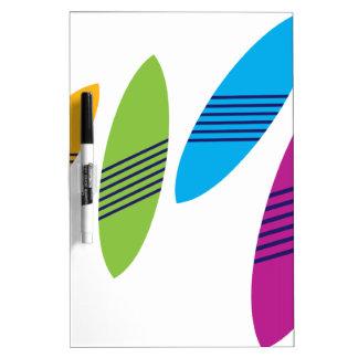 Surfboard Dry Erase Board