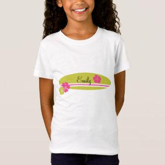 Surfboard Hibiscus T-Shirt
