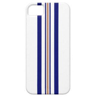Surfboard iPhone 5 Case - Blue Stripes