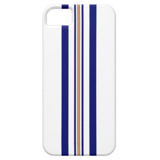 Surfboard iPhone 5 Case - Blue Stripes