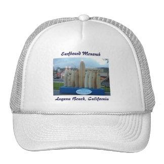 Surfboard Menorah Trucker Hat