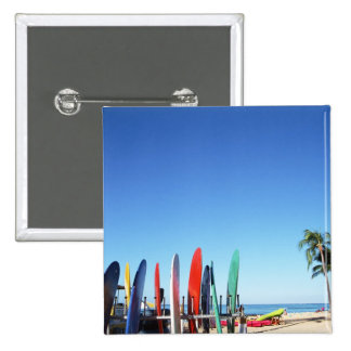 Surfboard Pinback Button