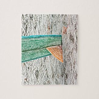 surfboard sketch on beach sea design jigsaw puzzle