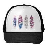 Surfboard Snapback Trucker Hat