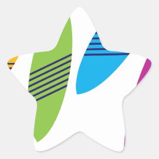 Surfboard Star Sticker