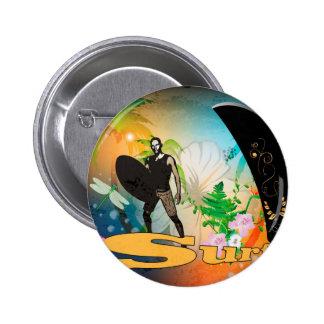 Surfboarder Pins
