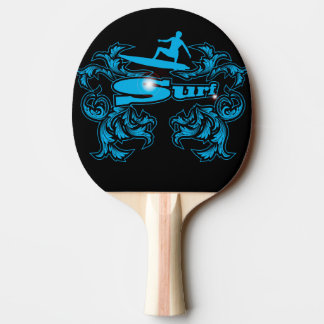 Surfboarder Ping-Pong Paddle