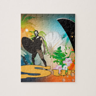 Surfboarder Jigsaw Puzzles