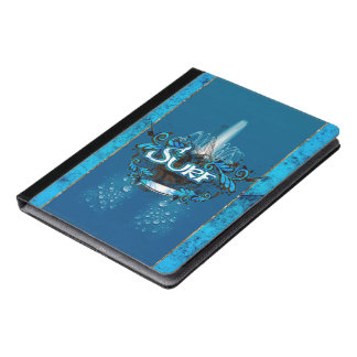 Surfboarding iPad Case