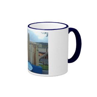 SurfboardMenorah.com Ringer Coffee Mug