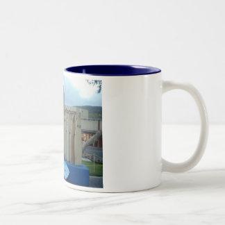 SurfboardMenorah.com Two-Tone Coffee Mug