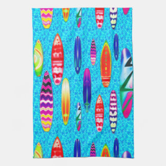 Surfboards 1 Kitchen Towels