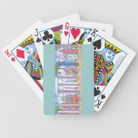 SURFBOARDS-1 playing cards Bicycle Playing Cards