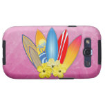 Surfboards And Hibiscus Samsung Galaxy SIII Covers