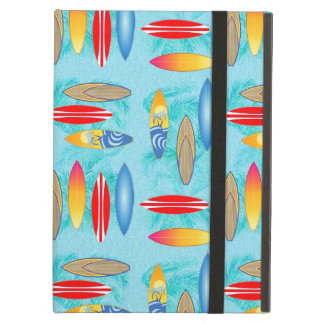 Surfboards And Palm Trees iPad Case