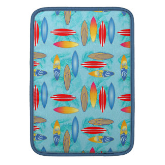 Surfboards And Palm Trees MacBook Sleeve