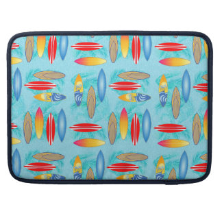 Surfboards And Palm Trees Sleeve For MacBook Pro