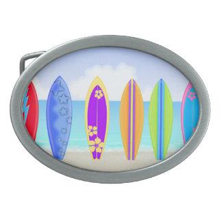 Surfboards Beach Belt Buckle