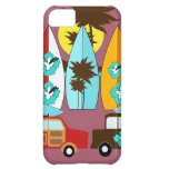 Surfboards Beach Bum Surfing Hippie Vans iPhone 5C Covers