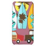 Surfboards Beach Bum Surfing Hippie Vans iPhone 5C Cases
