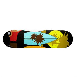 Surfboards Beach Bum Surfing Hippie Vans Custom Skate Board