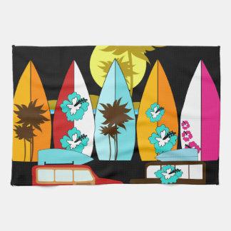Surfboards Beach Bum Surfing Surfer Hippie Vans Towels