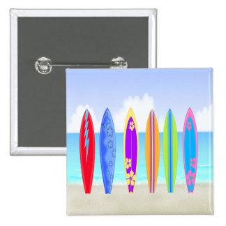 Surfboards Beach Button