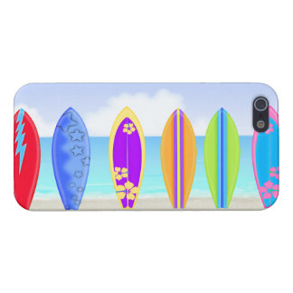Surfboards Beach Case Savvy iPhone 5 Case For iPhone 5