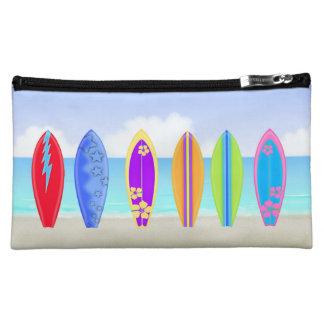 Surfboards Beach Medium Cosmetic Bag