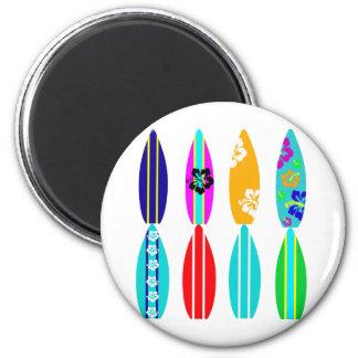 Surfboards Fridge Magnet